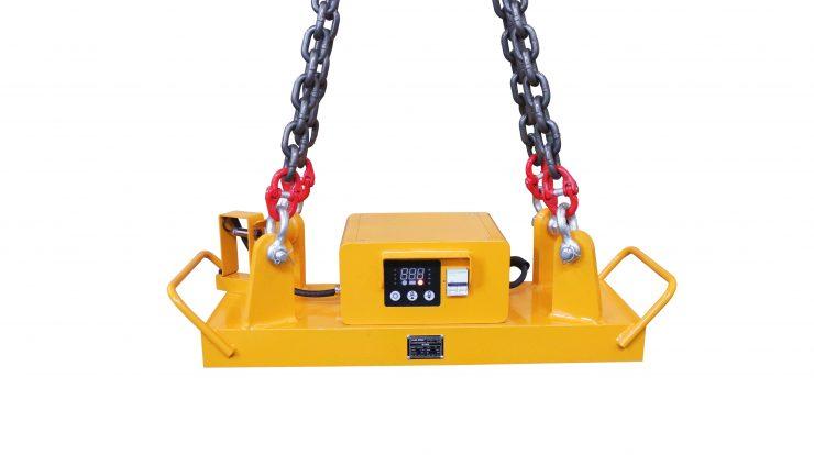 2000kg permanent lifting electromagnet lifter - HVR MAG
