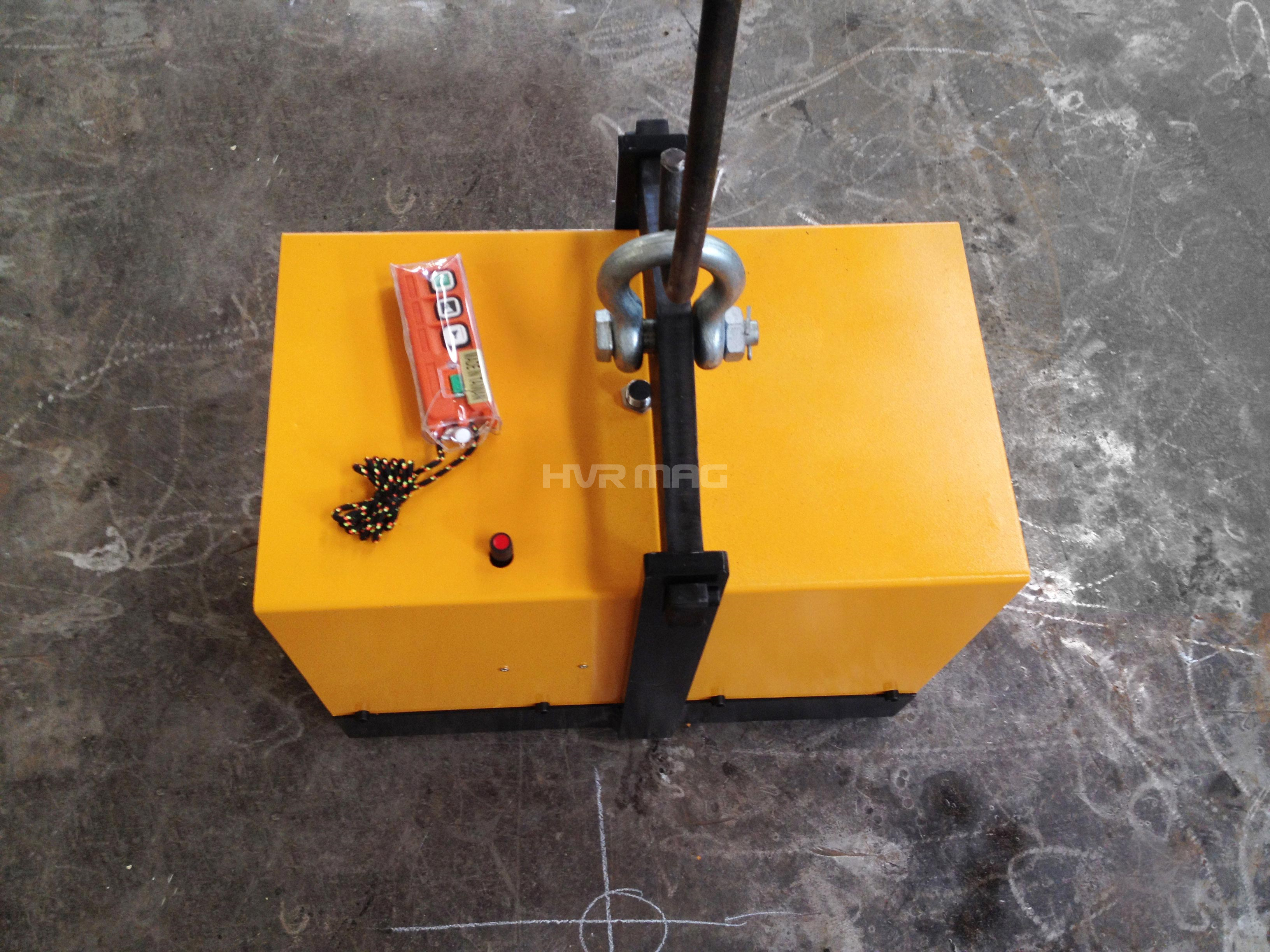 Battery electro permanent magnet