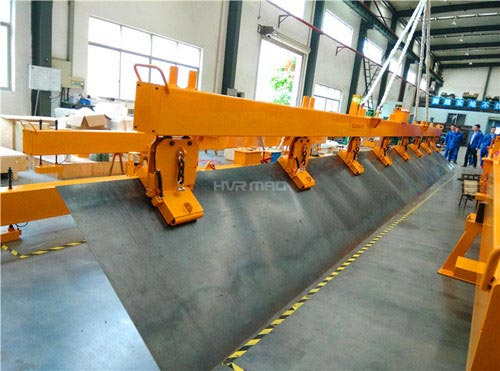 steel sheet vertical lifting