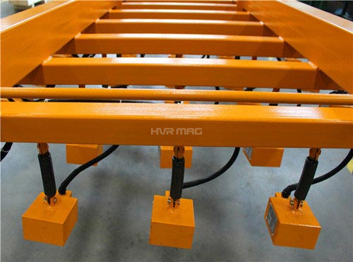 cutting system lifting magnet