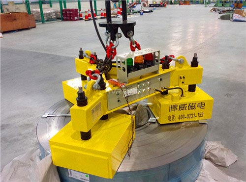 steel coil lifting magnet