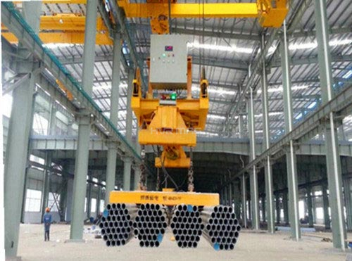 lifting magnet for steel pipe
