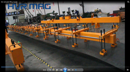 HVR MAG thin steel plates lifting magnet