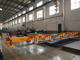 The permanent electromagnetic lifting 3-22mm steel plate