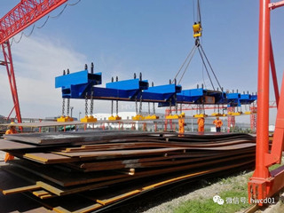 Ordinary Thickness Steel Plate Lifting Method