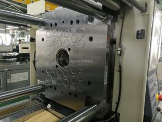 La placa magnética para la máquina inyectora