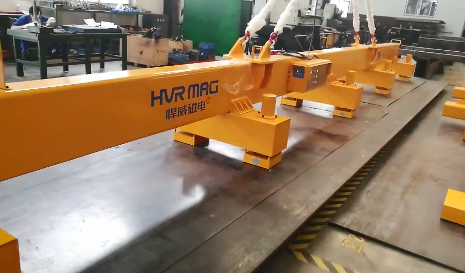 HVR MAG lifting magnet for steel plate