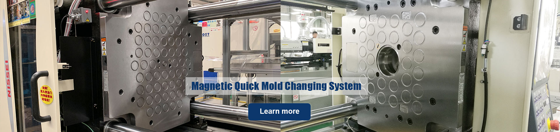 Magnetic Clamping System for Quick Mold Change - HVR MAG