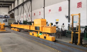 Lifting Steel Profiles with HBEP Battery Powered Electro Permanent Magnets