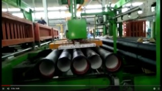 Palletizing Steel Pipe with Magnetic Gripper on Gantry Robot