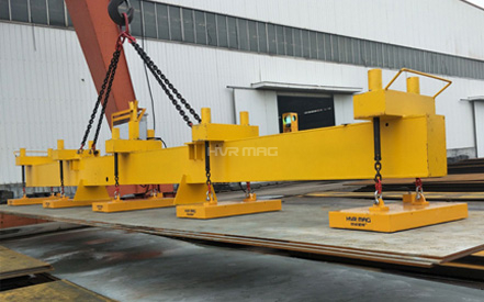 HM6 Series Lifting Magnets for Multiple Steel Plates