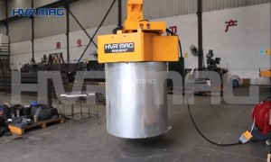 Lifting Steel Coil By Magnets (Permanent Electro) - HVR MAG