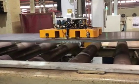 Magnetic Palletizer on Gantry System for Steel Plate Levelling