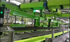 Magnetic Grippers for Gantry Robot in Automated Steel Material Handling