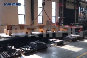 Lifting 12m Steel Plate with Magnets (Electro Permanent) 12 Ton - HVR MAG