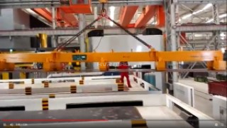 Lifting 12M Steel Plate with Electro-Permanent Magnets