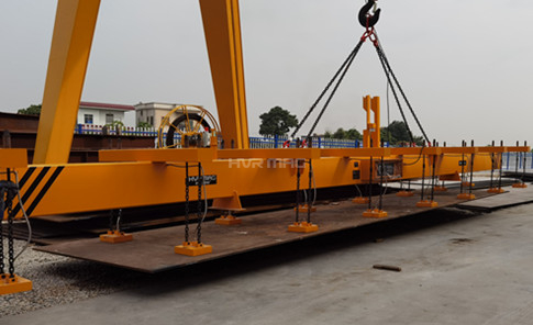 16 Ton Steel Plate Lifting Magnet for Outdoor Plate Stacking