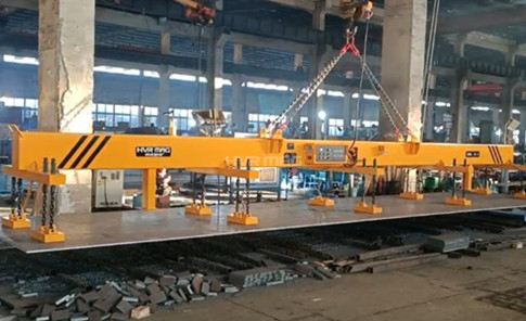 Magnetic Sheet Metal Lifter - 8 Ton Steel Plate Lifting Magnets