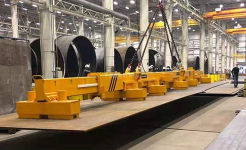 How to Load Long & Heavy Steel Plate for Cutting Table Safely and Efficiently?