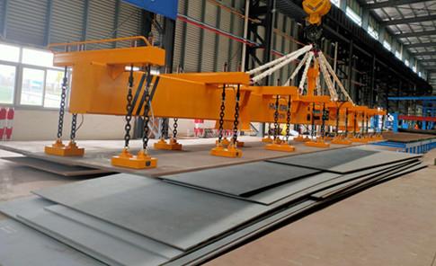 15 Ton Lifting Electromagnet - Long & Heavy Steel Plate Handling Equipment