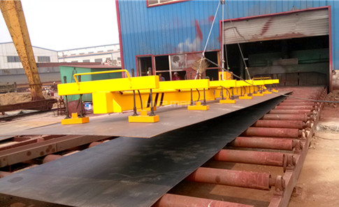 Thin Sheet Metal Magnetic Plate Lifter - Lifting Magnet System