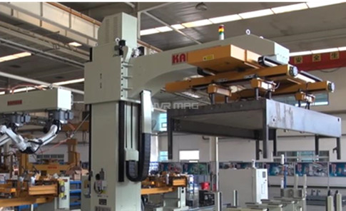 How Magnetic Gripper Facilitates Automatic Feeding for Robotic Welding?