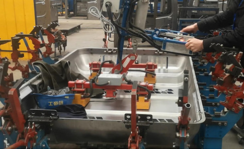 Industrial Manipulator Arm Lifting 50KG Steel Framework with Magnetic Gripper