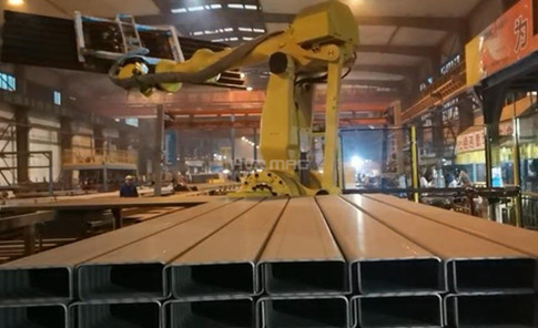 Maximize Your Steel H Beam Blank Handling Efficiency with Robot Magnetic Gripper
