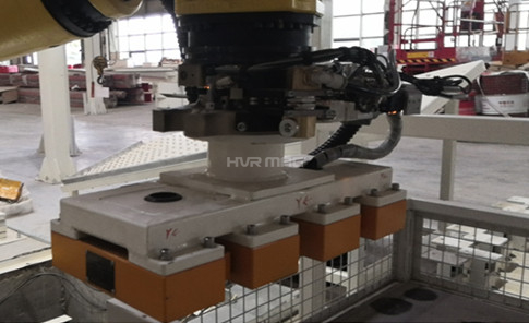 Magnetic Robot Gripper for Pick-and-Place of Metal Sheet Forgings