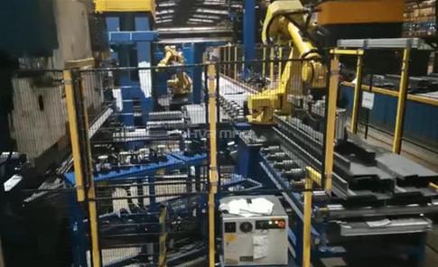 Permanent Electromagnetic Gripper or Vacuum Gripper - Robot Handling Metal Sheet for Bending Machine
