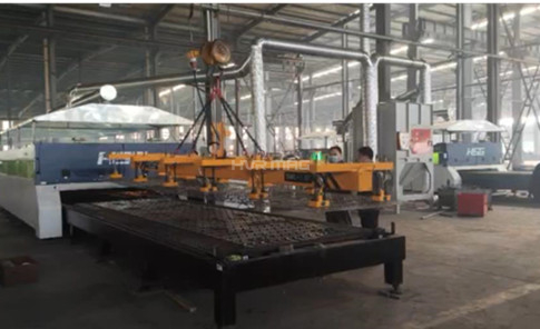 Steel Sheet Lifting Equipment for Laser Cutting Table