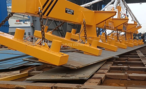 Magnetic Lifting Device for Steel Plates - 24 Ton Magnet Lifting System