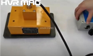 Magnetic Property Test of Electro-permanent Magnet Lifter