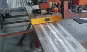 Automatically Transferring Steel Billets with Magnet Gripper on Gantry Robot System