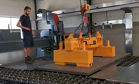 Steel Slab Lifting Equipment - 2500kg Magnet Lifter