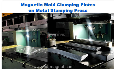 Applications of Magnetic Mold Clamps on Different IMMs/Presses