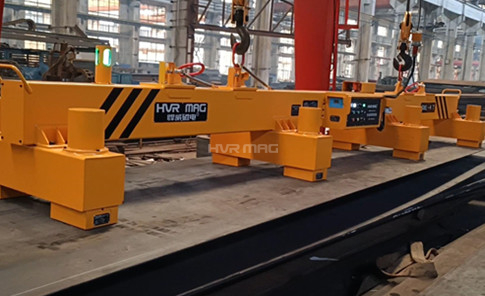 4 Ton Magnetic Lifting Device - Loading Solution for Steel Plate Cutting System