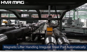 Magnetic Lifting Handling Irregular Steel Part Automatically