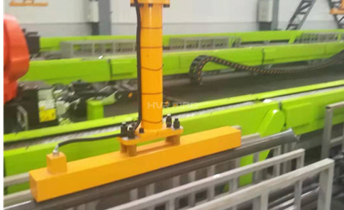 Automatic Handling of Steel Tubes with Magnetic Grippers Used for Robots