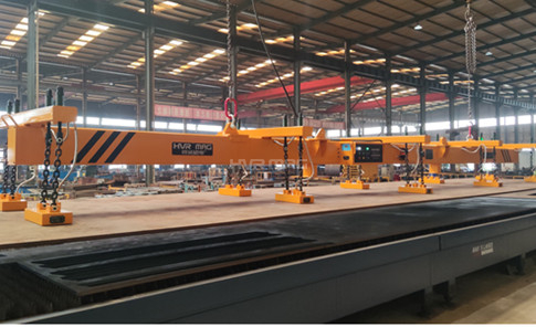 8 Ton Lifting Magnets Loading Steel Plate for Laser Cutting Table