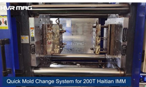 How to Change Mould Quickly for 200T Haitian Injection Molding Machine