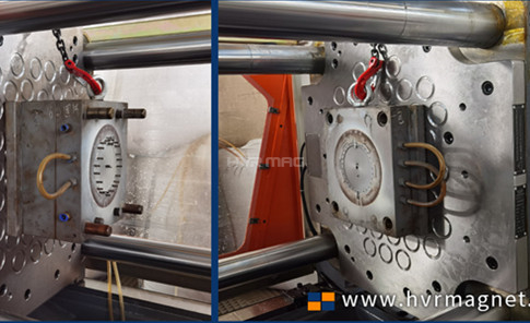 Magnetic Mold Clamp Plates for LANSON 200 Ton IMM